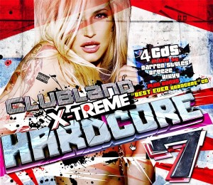 Clubland Hardcore 7 Album Artwork